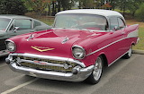 1957 Chev 2 door red MOD2