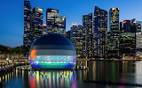 "Architecture tumblr ""Apple builds floating store in Singapore's"