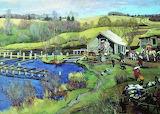 Konstantin Yuon, Mill, 1913