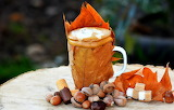 Autumn cappuccino