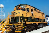 Train Locomotive Reading 5513 GP30
