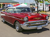 Chevrolet 4 door pillarless 1957