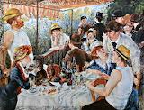 """Boating Party"" Renoir"