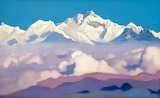 Nicolai Roerich, Kangchenjunga, 1936