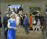 Albert André, L'exposition Manet, Nina de Callias