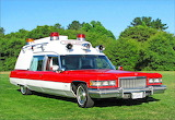 1975 Cadillac Miller Meteor Criterion Ambulance