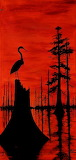 LouisianaRedSunsetSwamp_KipHayes