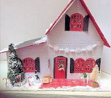 Front of Christmas House