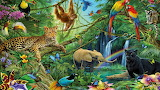 Animals from the Jungle