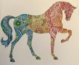 Mandala-caballo-horse