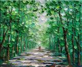 Walk Along the Greening Trees