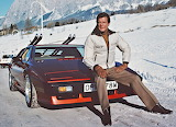 Roger Moore & 1981 Lotus Esprit