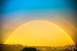 2013-06   Rainbows over Boston Harbor 16 - 2013-06-17 at 19-53-1