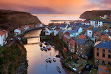 Evening at Staithes, Yorkshire