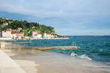Beach in Slovenia