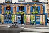 Blue Bar in Paris