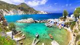 Milos-island-greece-village-in-Cyclades-Greece-Aegean-sea-Ultra-
