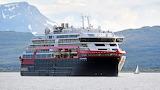 ^ Hurtigruten's MS Roald Amundsen