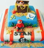 Stan's cake @ Taartje Erbij