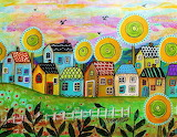#'Small Village' by Karla Gerard