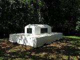 Robert Louis Stevenson's grave in American Samoa