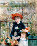 Sisters,  Renoir.