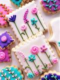 #Beautiful Flower Cookies
