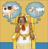 José interpreta las visiones del faraón