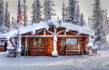 Home Deep In The Tundra Alaska USA