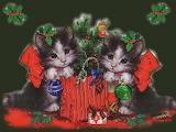Christmas Kitty Kats