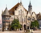 Hildesheim Town Hall, c. 1895