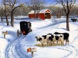 Winter , Hosteins