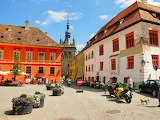 Village of Sighisoara Romania