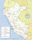 Peru Kaart