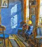 Anna Ancher, Sunlight in the Blue Room, 1891