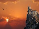 Swallows Nest Castle in Yalta, Ukraine