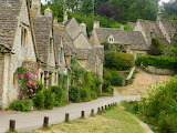 ^ Cotswolds in bloom, England