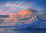 Stratospheric Clouds Over The Arctic