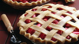 #Strawberry Rhubarb Pie Ready for the Oven