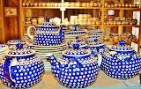 Pottery from Bolesławiec, Poland