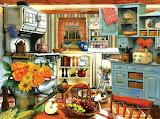 Gramma's comfy kitchen
