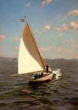 The Sailboat. Johan Krouthen 1907