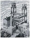 Escher - Cascata (1961)