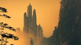 Huangshan-Mountains in Anhui China