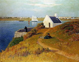 Lorient Harbour 1895 by Henri Moret