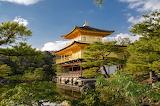 'Golden Pavilion', Kinkaku-Ji, Buddhist Zen Temple, Kyoto, Japan