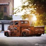 Truck old golden