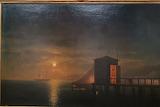 Aivazovsky. Moonlight night. Bath in Feodosia