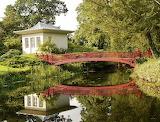Shugborough Hall, Chinese house, Red bridge