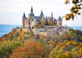 Hohenzollern Castle Autumn Germany